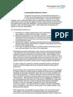 Solent Supplies Team Sustainability Statement of Intent