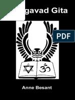 Bhagavad Gita - Besant, Annie