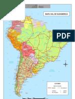 Mapavial Sudamerica