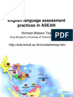 English Language Assessment Practices in ASEAN