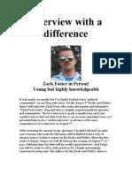 Zack Foster Interview
