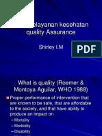 Quality Assurance Update