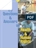 25 Questions&Answers on Health and Human Rights WHO