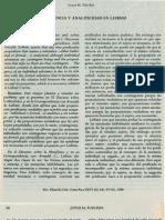 Contigencia Y Analiticidad en Leibniz