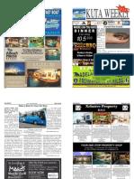 "Kuta Weekly-Edition 343 ""Bali's Premier Weekly Newspaper"""