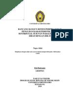 Sistem Perpipaan Paralel IDB 45 Dgn IDB 35