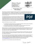 Newsletter, July 2013