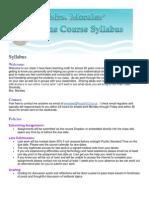 morales online syllabus