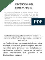 Intervencion Del Fisioterapeuta