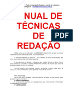 Manual Tecnicas Redacao