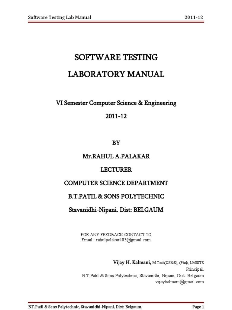 software testing lab manual selenium software eclipse software rh scribd com
