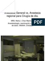 Anestesia General Vs