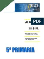 Algebra III Bim 5to