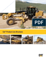Caterpillar Product Line 2012