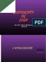 EXPOSICIÓN DE CASO-DIANA