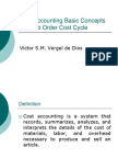 Basic Concepts and Job Order Cost Cycle