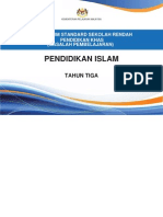 Dokumen Standard Pend. Islam Tahun 3
