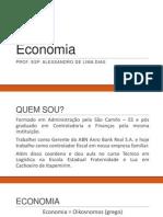 Aula Economia - UNIUBE