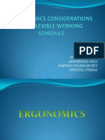 Ergonomics and Flexible Working