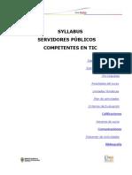 Syllabus Servidores Publicos Competentes en TIC -1