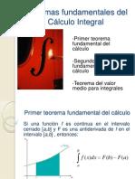 Teoremas Fundamentales Del Calculo Integral