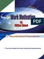 Work Motivation by Iftikhar