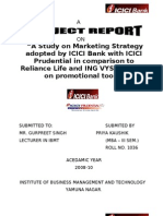 Icici Bank Project Report