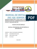 Manual de Instalacion SQL 2008