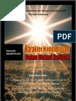 Karakter Haddadiyyah Dalam Diskusi Ilmiyyah Bagian 10 (TAMAT)