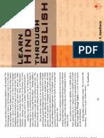 Learn Hindi Through English PDF