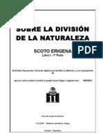 SCOTO ERIGENA - Sobre la División de la Naturaleza