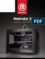 MakerBot Replicator2 User Manual