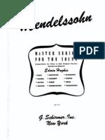 Mendelssohn Album for the Young Con Dita