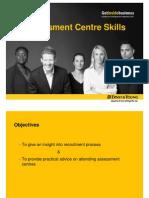 Assessment Centre Skills