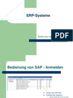 01 SAP User Interface (Übung)