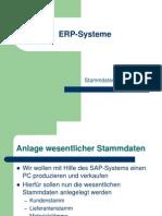 02 Stammdatenanlage SAP (Übung)