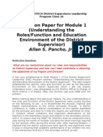 Reflection Paper for Module 1-1