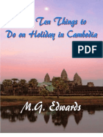 Top Ten Things to Do on Holiday in Cambodia
