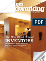 Custom Woodworking Business June 2013