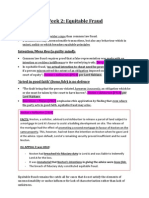 Equity & Trusts Exam Notes