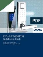 Kaba Ef680 780 Install Manual