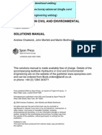 20-Hydraulics in Civil and Environmental Engineering (Solutions Manual)( 3 Edition)-A[1]. Chadwick A