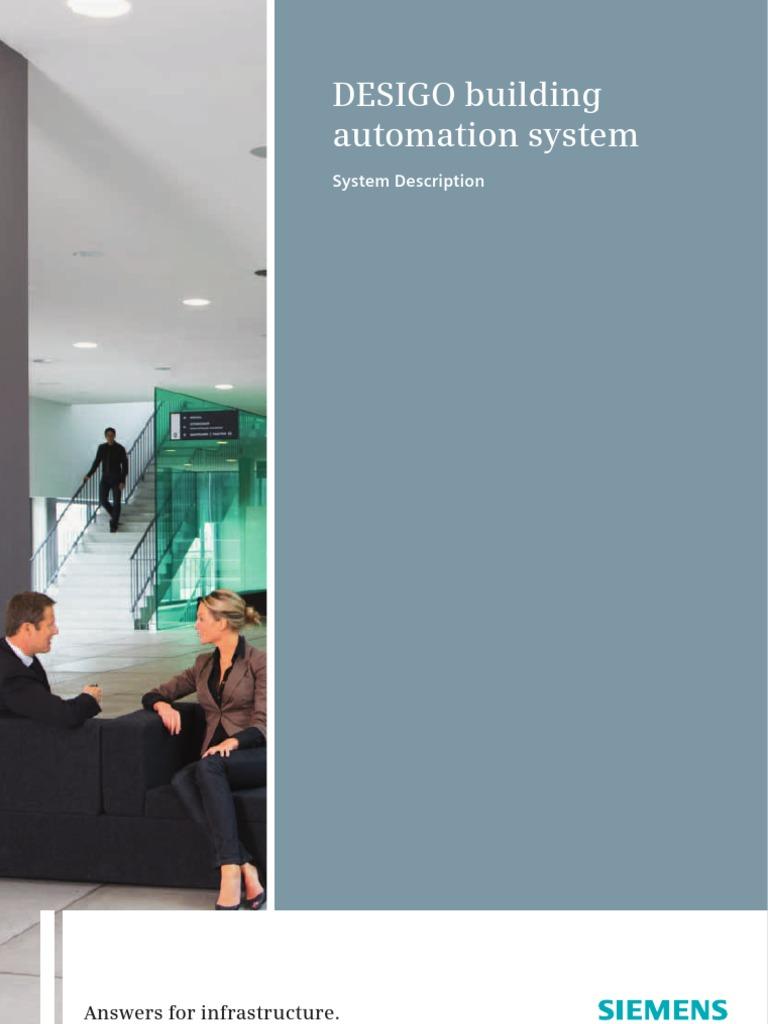 DESIGO V4 System Description | Automation | Building Automation