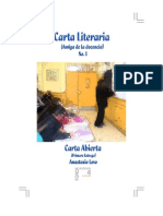 Carta Literaria No. 1 - Final 11 Oct 2010