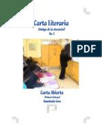 Carta Literaria No. 1 - Final 11 Oct 2010