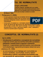 Curs Anormalitates Inormalitate