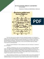 L'Horoscope Dei Wallenstein, Hier Et Aujourd'Hui