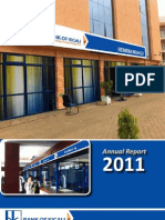 Bank of Kigali Annual Report 2011