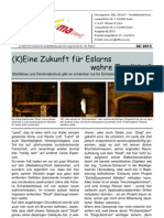 "pro4ma™ - Eslarner ISEK-Information 02.2013 - Thema ""Bier-Investitionen"""