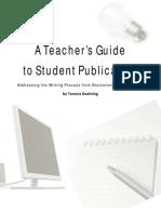 a teacher guide to publication 07 07 13